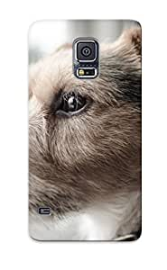 Crazinesswith Anti-scratch And Shatterproof Parson Russell Terrier Phone Case For Galaxy S5/ High Quality Tpu Case BY icecream design
