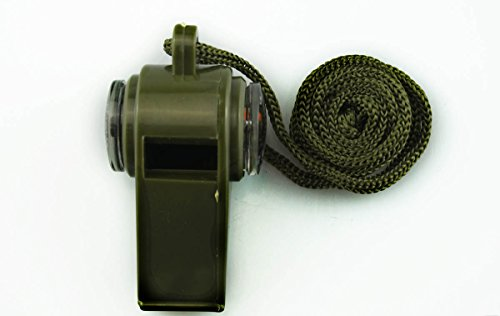 SE CCH3 1 3 in 1 Compass Whistle (Green)