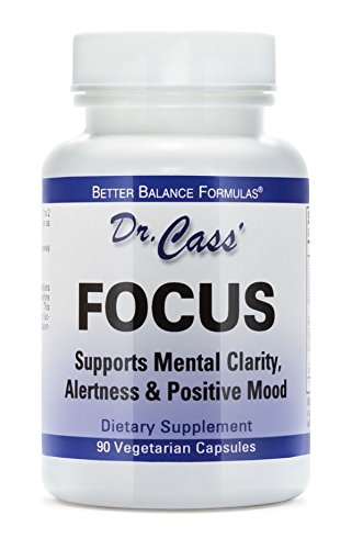 Dr. Hyla Cass Focus Formula: Supports Mental Clarity, Alertness, and Positive Mood by Tango