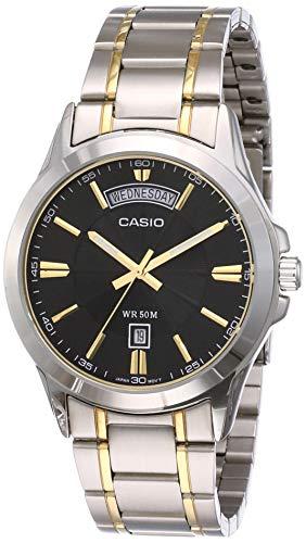 Casio Enticer Men Analog Black Dial Men #39;s Watch   MTP 1381G 1AVDF A842