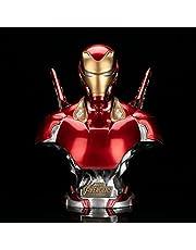 Iron Man Realistic Model 40cm Reality Statue Exquisite Model Anime Decoration, Iron Man Statue Model, Half Body Commemorative Collection
