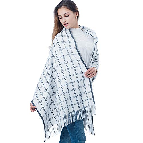 100% Cashmere Scarf - Multiple Colors, Removable Tag, Large Size, Wear as a Shawl, Wrap, or Cover Up