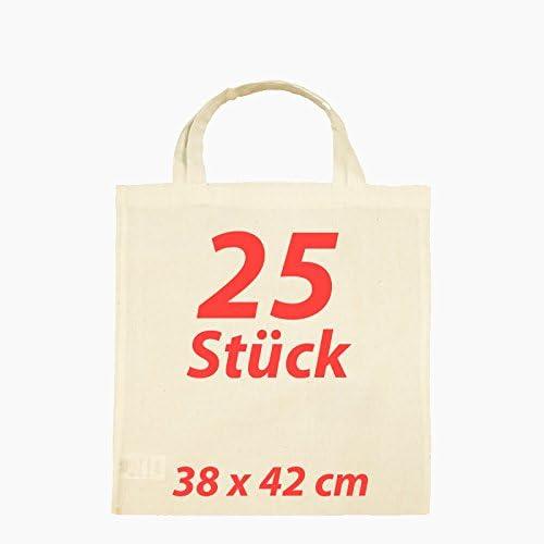 25 unidades Plástico Bolsa yute Bolsa Funda de algodón natural 2 ...