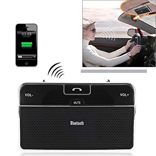 MaxFox BT LD-168 Hands Free Vehicle Mounted Bluetooth Speakerphone with Multiuse ()