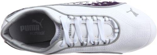 Puma Soleil Stud Blanc / Ombre Violet 35260202, Scarpe Sportive