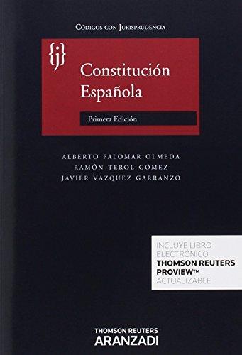 Descargar Libro Constitución Española Alberto Palomar Olmeda