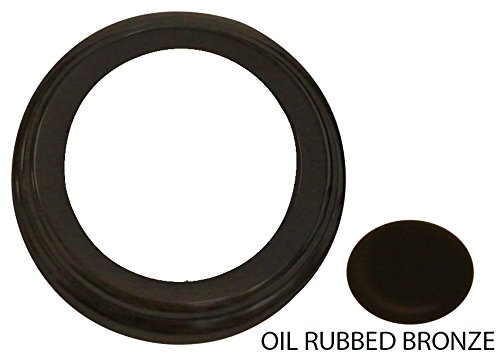 Westbrass D200F-12 Standard Air Gap Cap Flange Oil Rubbed Br