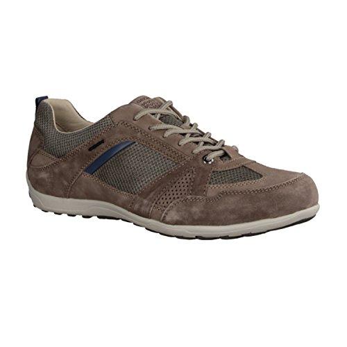 Geox UOMO MITO D - zapatos tipo oxford para hombre marrón (Braun)