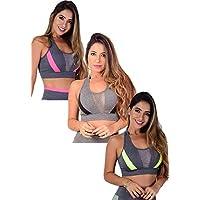Kit 3 Top Fitness Vip Academia Nadador