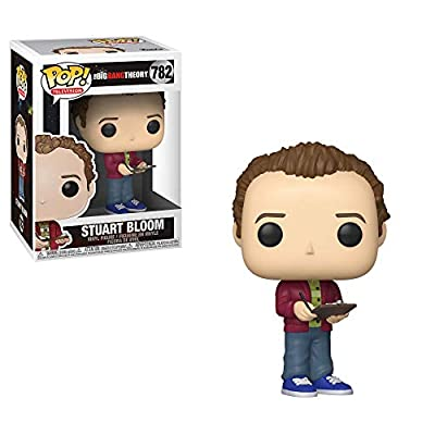 Funko Pop! TV: Big Bang Theory - Stuart, Multicolor: Toys & Games