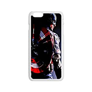 The Avengers Captain America Pose With Shield Design Hard Case Cover Protector For Iphone 6