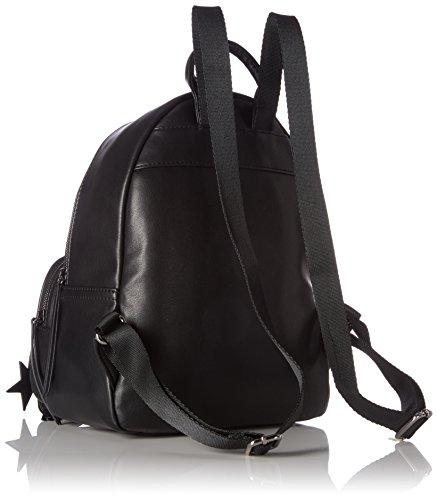 edc by Esprit Damen 077ca1o002 Rucksackhandtasche, Schwarz (Black), 12 x 30,5 x 26 cm