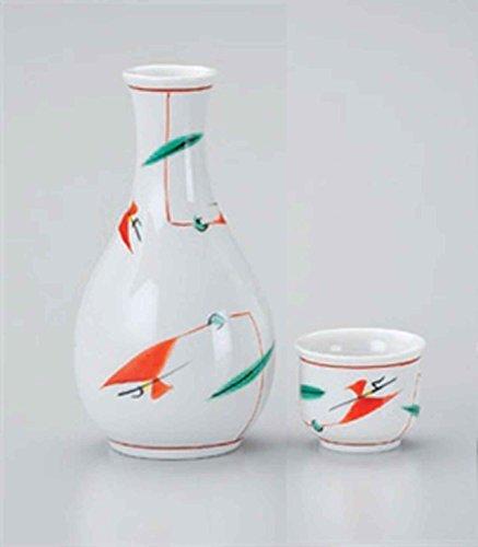 Tsuyukusa Akae 3.1inch Set of 10 Sake cups porcelain Made in Japan