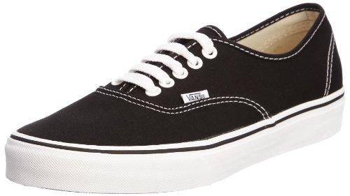 Vans VANS AUTHENTIC SKATE SHOES 7 (BLACK)