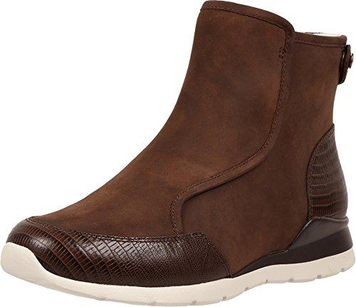 UGG Women's Laurelle Lizard Chocolate Boot (Ugg Boots Back Zipper)
