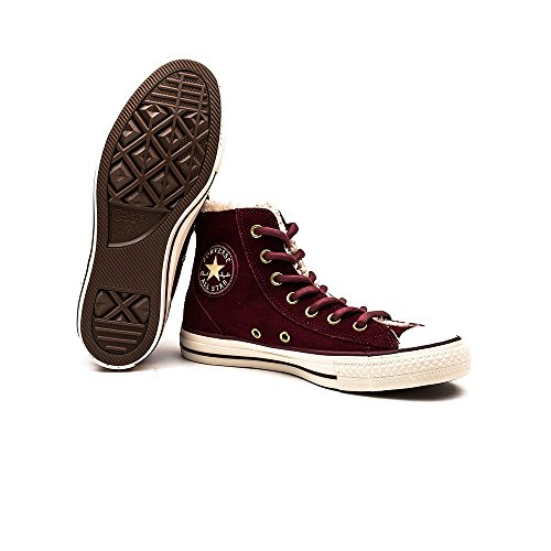 Converse All Star Bordeaux Chaussures Shearling Chelsea W ZgTzwZxB