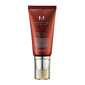 MISSHA M PERFECT COVER BB CREAM #21 SPF 42 PA+++, Multi-Function, High Coverage Makeup to help infuse moisture for firmer-looking skin with reduction in appearance of fine lines 50ml-Lightweight