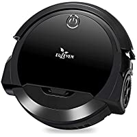 Euleven 3-in-1 Floor Robotic Vacuum With Smart Mopping Cleaner For Hardwood Floor, Short Carpet, HEPA Filter For Pet Hair Allergies Friendly (SYJ-3071B_BK)