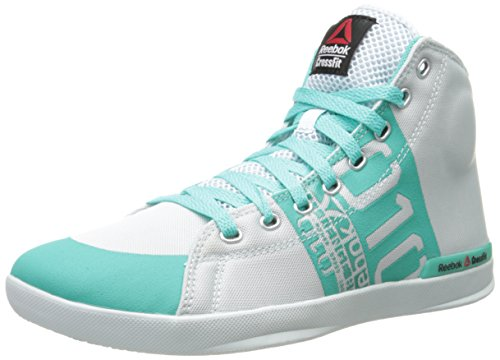 Reebok Women's Crossfit lite tr-w, Reflection Blue/Timeless Teal, 10 M US