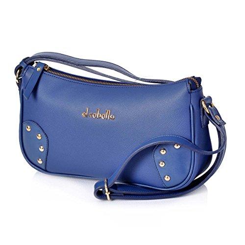 femme 350 unica pour Bleu bleu EL Sac talla bandoulière 1025 CABALLO gaSgqFnO