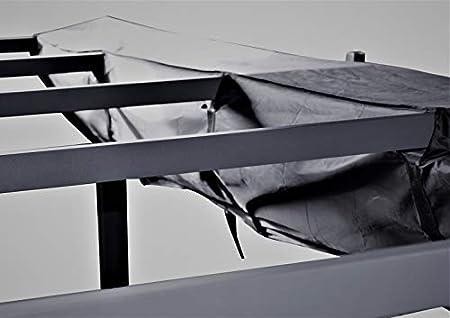 Jet-line B/âche de protection pour store Noir Protection UV Protection de bras articul/é Protection de store Protection de store Noir 3 m 4 m ou 5 m