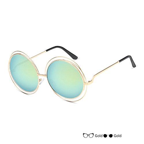 Gafas Oval Señor Del Redondas Vintage Lujo Gafas Mujer Gafas L H Sol Sol De De TIANLIANG04 De Negro wB6AqvI