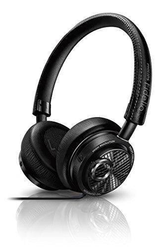 Philips Fidelio Fidelio - Auriculares (Supraaural, Diadema, Lightning, Negro, 7 - 25000 Hz, Dinámico)