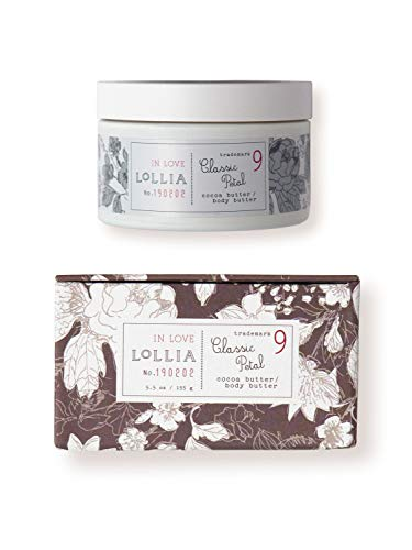 (Lollia In Love Whipped Body Butter   Margot Elena's Classic Petal Body Cream, 5.5 oz )