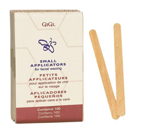 GiGi Small Wood Applicators, 100 (Pack of 3)