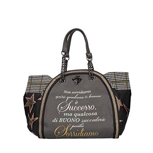 Classic Donna Grey Borsa Pandorine Successo Le Grigio Dark Tracolla A HaBPqwf