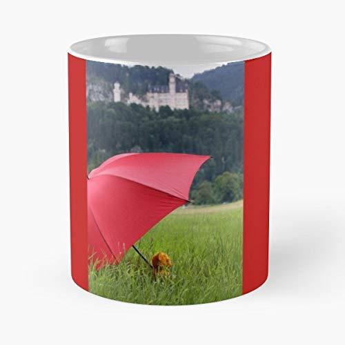 Mountains Attraction Bavaria Castle - Best Gift Ceramic Coffee - Dish Bavaria