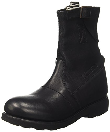 980 Nero Vintage Bikkembergs Stivaletti Black Donna 5waxRnq617