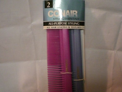 Conair Dressing Combs 2 Pack, All Hair Lengths & Textures