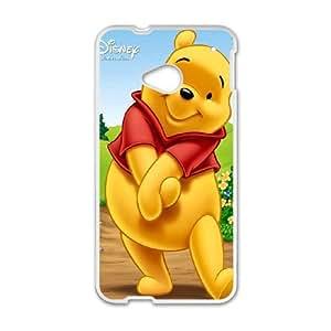 Winnie the Pooh HTC One M7 Cell Phone Case White pch bxfi