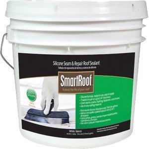 smart-roof-1gallon-white-butter-grade-silicone-seam-roof-repair-sealant