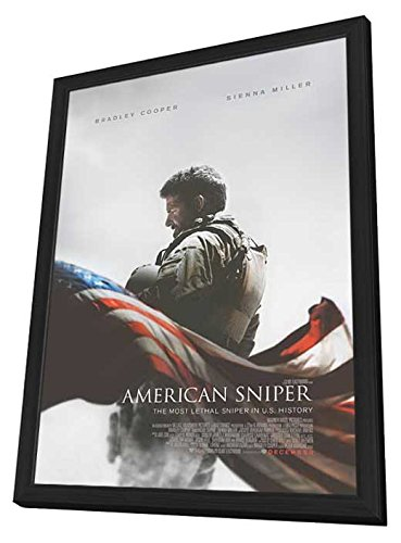 American Sniper 27X40 Framed Movie Poster  2015