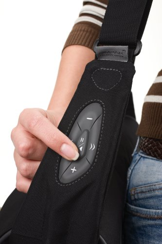 Take.Control Notebook-Messengerbag mit integrierte iPod-Steuerung für Notebooks bis 39,1 cm (15,4 Zoll) grau