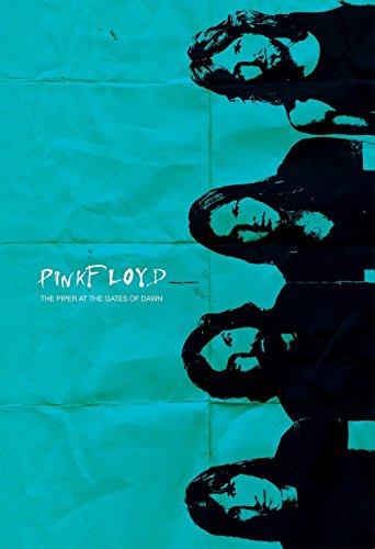 Pink Floyd Poster Retro Illustration Art Print Rock Vintage Pop Giclee on Cotton Canvas