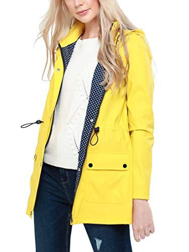 Abrigo Mujer Ss7 Para Impermeable Amarillo dU6WwCqp