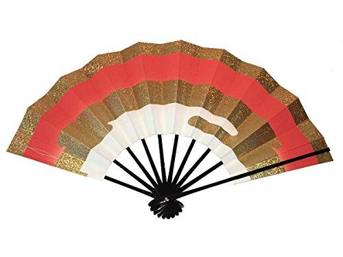 Japanese Sensu(Japanese Dance Folding Fan) vermilion (Japanese Fan Sensu)