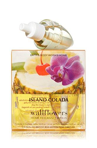 Bath & Body Works Wallflowers Home Fragrance Refill Bulbs 2 Pack Island Colada