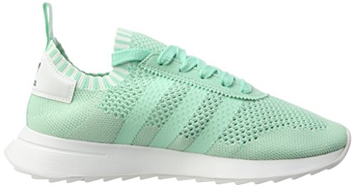 White footwear Turquoise Taille Femme Basses Vert Green Primeknit easy Adidas Green Sneakers easy Flashback Unique wxgqTTpa