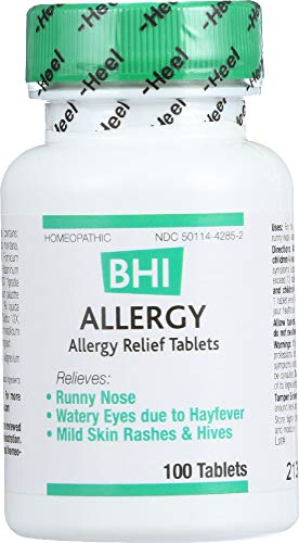 StarSun Depot Allergy Homeopathic Medication, 100 Tablets -