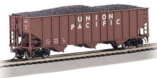 Bachmann Trains Union Pacific #36255 Bethlehem Steel 100 Ton Three-Bay Hopper-Ho Scale