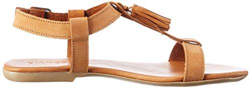 Bianco Dame T-bar Sandal 21-49247 Brun (lysebrun) rCvrBrB9