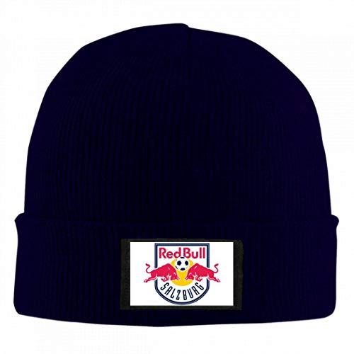 FC Red Bull Salzburg Wool Feel Beanie Hat Winter Unisex Men Women Knit Skull Cap B Navy