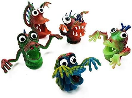 856storeFunny Fashion Toys5PcsSet Silicone Monster Finger Puppets Doll Storytelling Props Interactive Toy - 5pcs / 856storeFunny Fashion Toys5PcsSet Silicone Monster Finger Puppets Doll Storytelling Props Interactive Toy - 5pcs