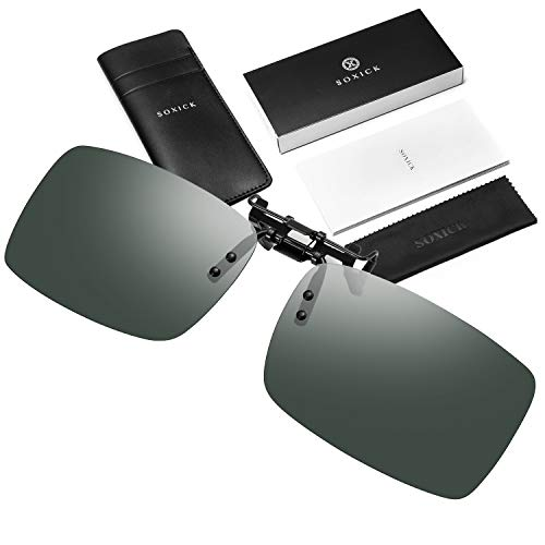 High Quality Clip On Sunglasses - SOXICK Fashion Inter Brand Clip On
