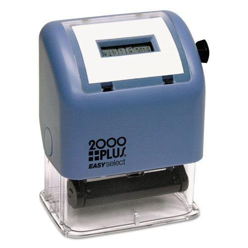 CONSOLIDATED STAMP 2000 PLUS ES Dater, Date Only, Black (11091) by Consolidated Stamp