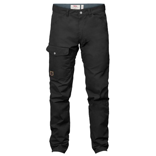 Fjällräven PANTS メンズ B076QK4WWB 52|ブラック ブラック 52